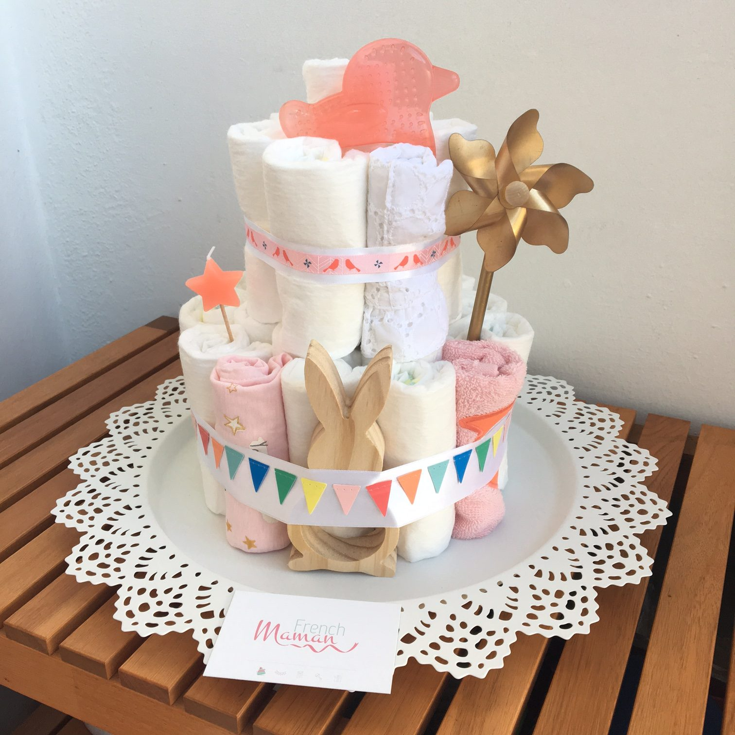 diaper cake paques1