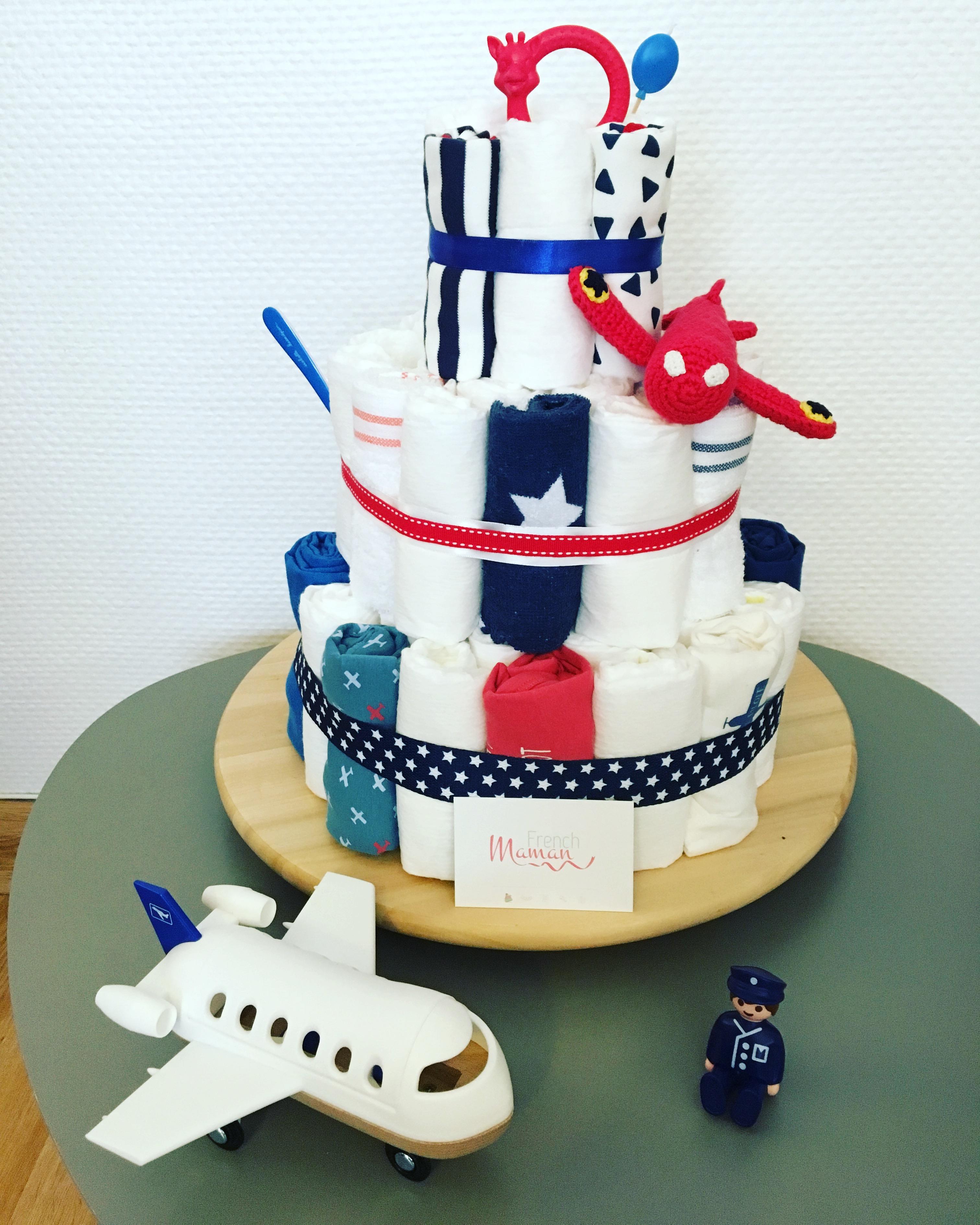 diaper cake pilote